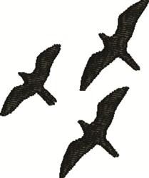 Soaring Birds embroidery design
