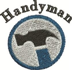 Handyman Logo embroidery design