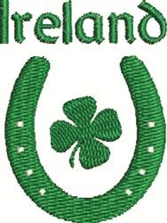 Irish Horseshoe embroidery design