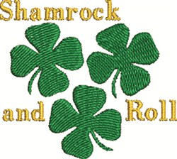 Shamrock Amd Roll embroidery design