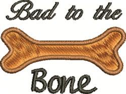 Bad Dog embroidery design