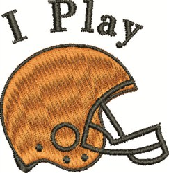 Play Football embroidery design