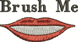 Brush Me embroidery design