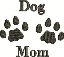 Dog Mom embroidery design