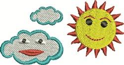 Happy Sky embroidery design