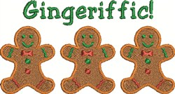 Gingeriffic embroidery design