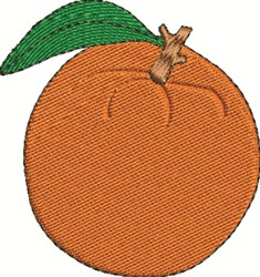 An Orange embroidery design