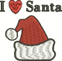 Love Santa embroidery design