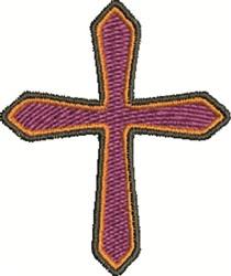 Religious Cross embroidery design