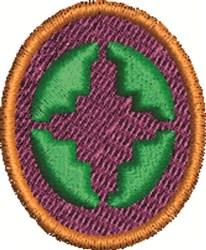 Intelligence Symbol embroidery design