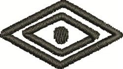 Medicine Man Eye Outline embroidery design