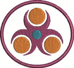 Nayru Circle embroidery design