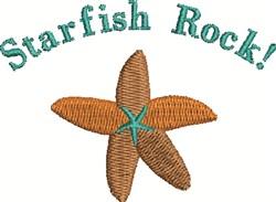 Starfish Rock embroidery design