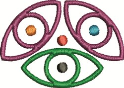 Universe Symbol embroidery design