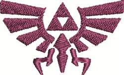 Zelda Royal Crest embroidery design