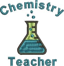 Chemistry Teacher embroidery design