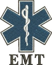 EMT Symbol embroidery design
