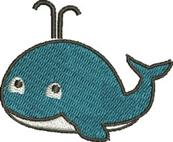 Whale Baby embroidery design