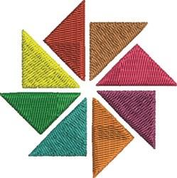 Pinwheel Pattern embroidery design