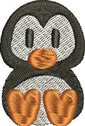 Artic Peguin embroidery design