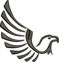 Eagle Flight embroidery design