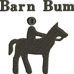 Barn Bum embroidery design