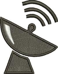 Satellite Dish embroidery design