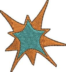 Starburst embroidery design