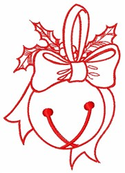 Jingle Bell embroidery design