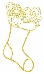 Xmas Stocking embroidery design