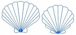 Sea Shells embroidery design