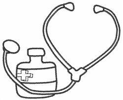 Medical Equipment embroidery design