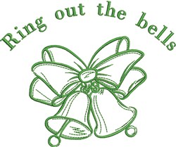 Ring Out The Bells embroidery design