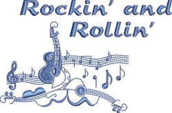 Rockin And Rollin embroidery design