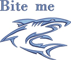 Bite Me embroidery design