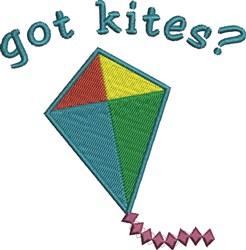 Got Kites? embroidery design
