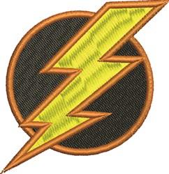 Lightning Bolt embroidery design