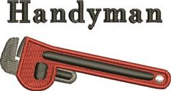 Handyman embroidery design