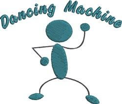 Dancing Machine embroidery design