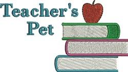 Teachers Pet embroidery design