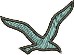 Seagull embroidery design