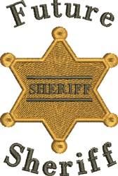 Future Sheriff embroidery design