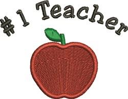 #1 Teacher embroidery design