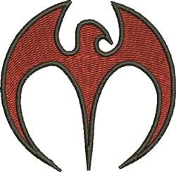 Bird Logo embroidery design