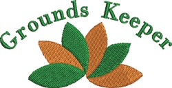Grounds Keeper embroidery design