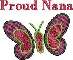 Proud Nana embroidery design