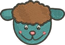 Lamb Head embroidery design