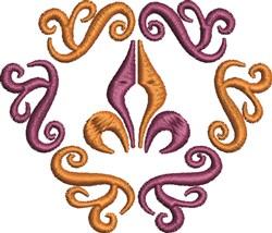 Fleur Decor embroidery design