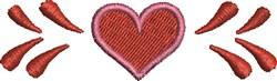 Heart Decor embroidery design