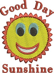 Good Sunshine embroidery design